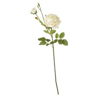 Artificial Double Rose Flower Stem