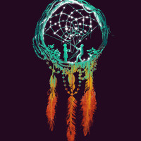 Dream Catcher (the rustic magic) Art Print | Print Shop