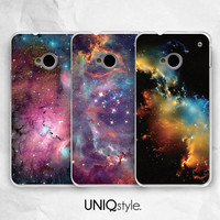 Galaxy sky phone cover for HTC one m7, m8 case - htc one mini, one max case - night sky back case for Nokia lumia 520, 920, 1520 case - I20