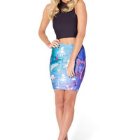 Down The Rabbit Hole Pencil Skirt