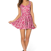 WE'RE ALL MAD HERE SCOOP SKATER DRESS