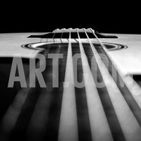 Close Up a Steel String Acoustic Guitar Built by Luthier John Slobod Photographic Print by Amy & Al White & Petteway at Art.com
