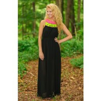 Up In Lights Maxi Dress