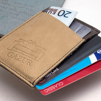 Leather cardholder, Business cardholder, Small Wallet