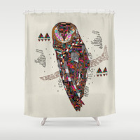 HATKEE Collaboration by Kyle Naylor and Kris Tate Shower Curtain by Kyle Naylor