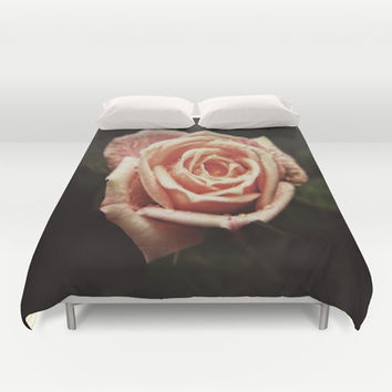 Blooming Love Duvet Cover by DuckyB (Brandi)