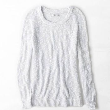 AEO OPEN STITCH JEGGING SWEATER