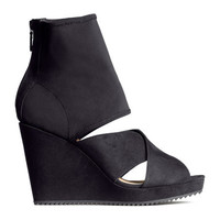 H&M Wedge-heel Sandals $49.95