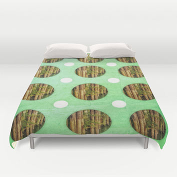 Greens Duvet Cover by DuckyB (Brandi)