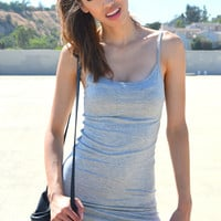 Every Day Basic Dress - Grey | Shop Civilized