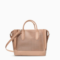 COMPARTMENTED SHOPPER WITH CUTOUTS