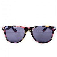 Retro Floral Frame Sunglasses - Retro, Indie and Unique Fashion