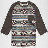 Retrofit Southwest Ii Mens Baseball Tee Charcoal  In Sizes