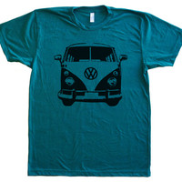 VW Camper / Micro Bus Men's Tri-Blend t shirt