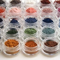 Mineral Eye Shadow Mineral Makeup Samples 20 for by ReliqMinerals