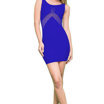 Three Point Fishnet Dress (10 Colors Available) | Verona