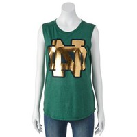Notre Dame Fighting Irish Sleeveless Tee - Juniors