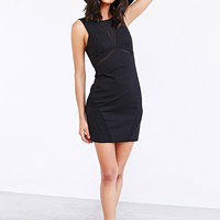 Bardot Yasmin Mesh-Inset Bodycon Dress - Urban Outfitters