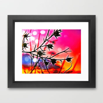 The Lovely Weeds Framed Art Print by DuckyB (Brandi)