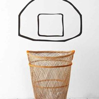 Basketball Backboard Wall Decal- Black One