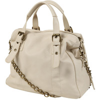 Chain Strap Boston Bag | FOREVER21 - 1000043003