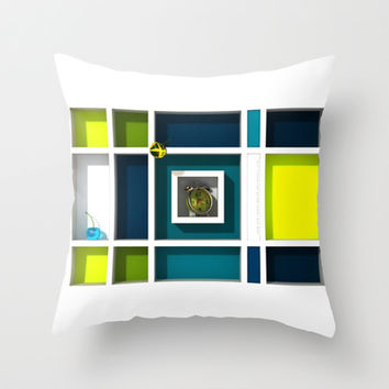 Abstract Glass Cherries 6 - Throw Pillow by THE-LEMON-WATCH | Society6