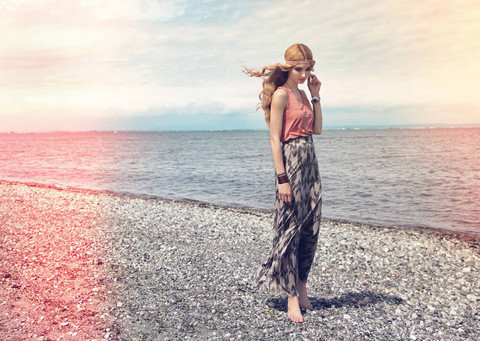 Gentle Fawn Rift Maxi Skirt