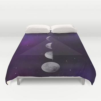 Moon Down Duvet Cover by DuckyB (Brandi)