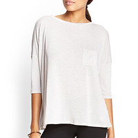 Drop-Sleeve Pocket Tee