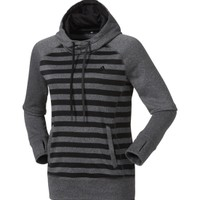 adidas Women's Ultimate Fleece Striped Hoodie - Dick's Sporting Goods