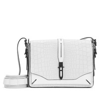 Enfield Shoulder Bag - White Croc | rag & bone Official Store