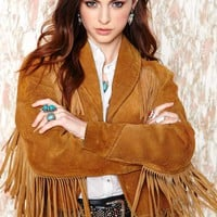 Vintage High Noon Fringe Jacket