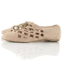 MERRILY Open Laceup Shoes - New In This Week  - New In  - Topshop