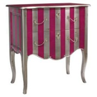 One Kings Lane - Pink  Gold - Fontenay Commode