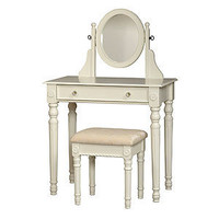 White Victoria Vanity Set | Bedroom Furniture| Furniture | World Market
