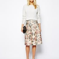 ASOS Prom Skirt With Bow Waist