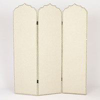 Hara Upholstered Screen | Living Room Furniture| Furniture | World Market