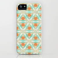 Moorish Teal Terracotta iPhone & iPod Case by Ally Coxon | Society6