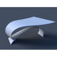 Bernstein Architecture Wave Desk - Tables: Desk - Modenus Catalog