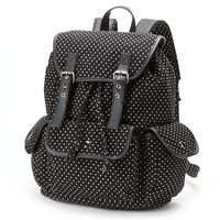 Candie's Dotted Cargo Backpack