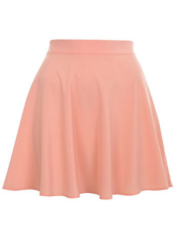 Pastel Flippy Skater Skirt - Miss Selfridge