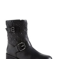 Tory Burch 'Chrystie' Quilted Moto Boot (Women) | Nordstrom