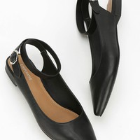 Cooperative Cross Ankle-Strap Flat - Urban Outfitters