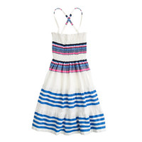 GIRLS' LEMLEM® FOR CREWCUTS ISHI SUN DRESS