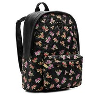 Betsey Johnson Be My Sweetheart Floral Backpack