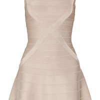 Hervé Léger Makayla bandage mini dress – 65% at THE OUTNET.COM