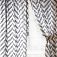 Tiled Chevron Window Panel Set