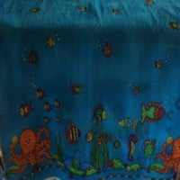 Go Fish Jelly Bean Junction Fabric by fugeecat on Zibbet