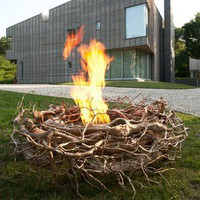 Colombo Construction Corp Bronze Nest - Outdoor Fire Pits - Modenus Catalog