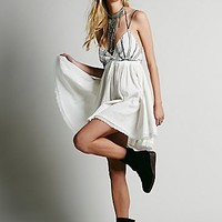Free People Womens Sunray Dress - Ivory,